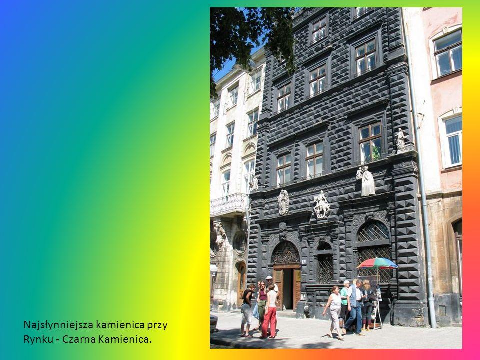 Najsłynniejsza kamienica przy Rynku - Czarna Kamienica.