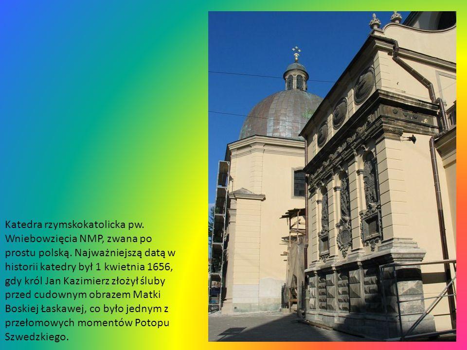 Katedra rzymskokatolicka pw. Wniebowzięcia NMP, zwana po prostu polską