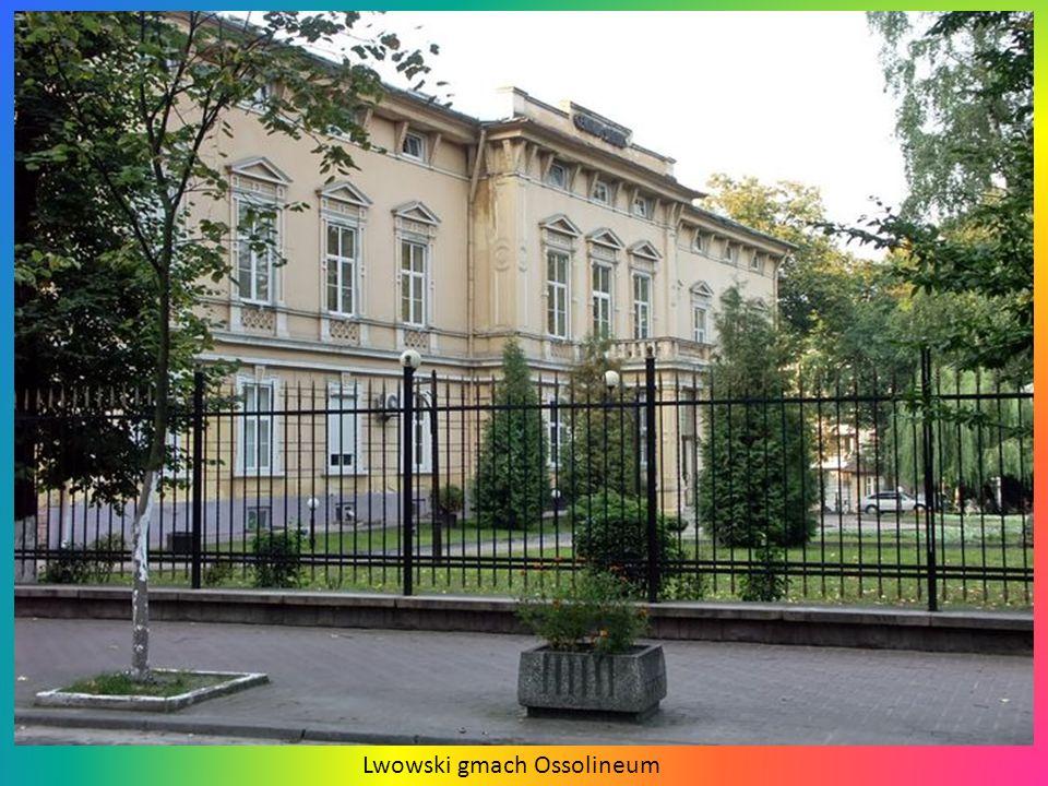 Lwowski gmach Ossolineum