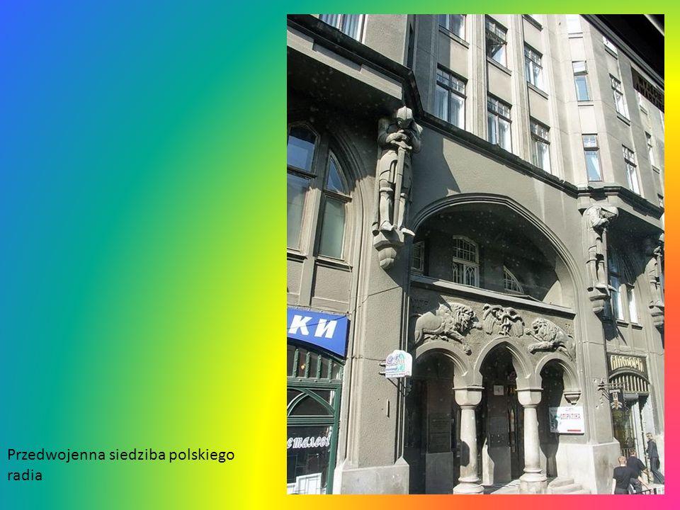 Przedwojenna siedziba polskiego radia