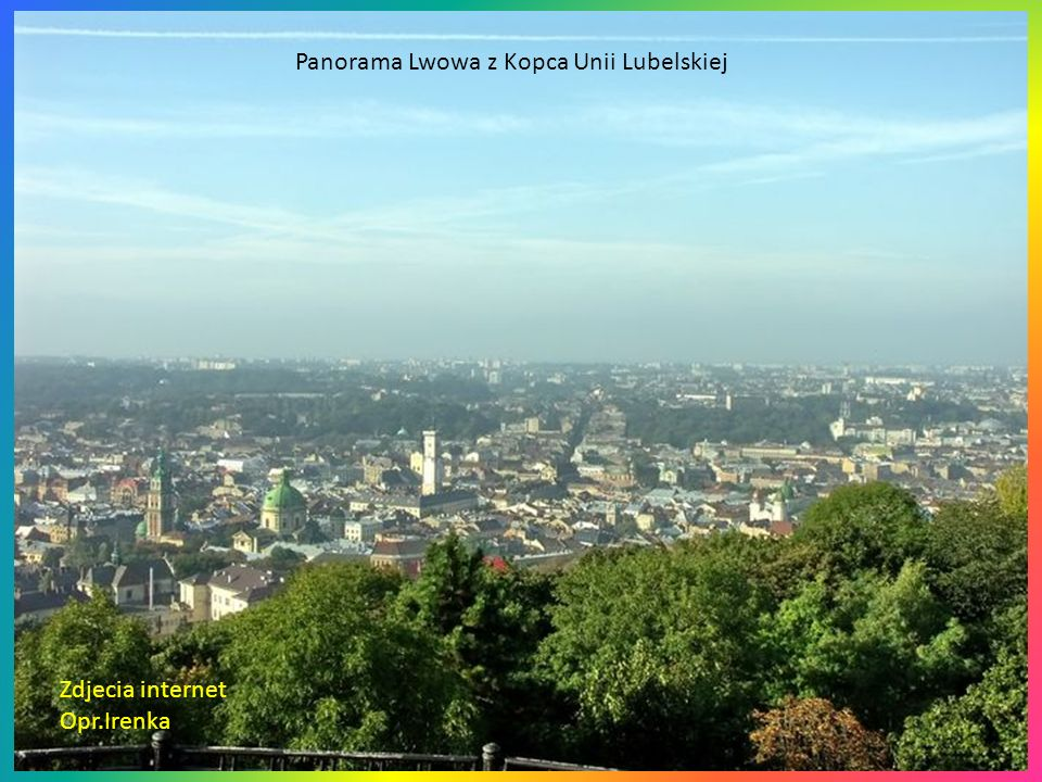 Panorama Lwowa z Kopca Unii Lubelskiej