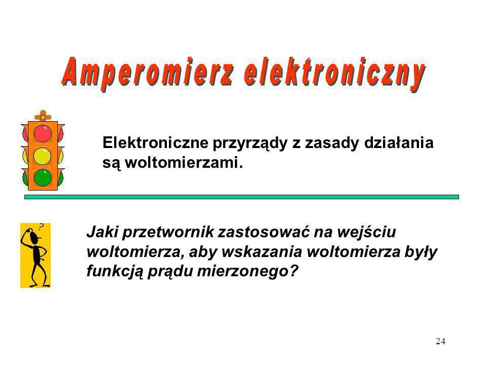 Amperomierz elektroniczny