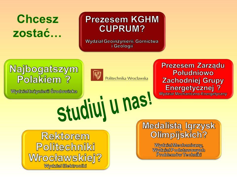 Chcesz zostać… Studiuj u nas!