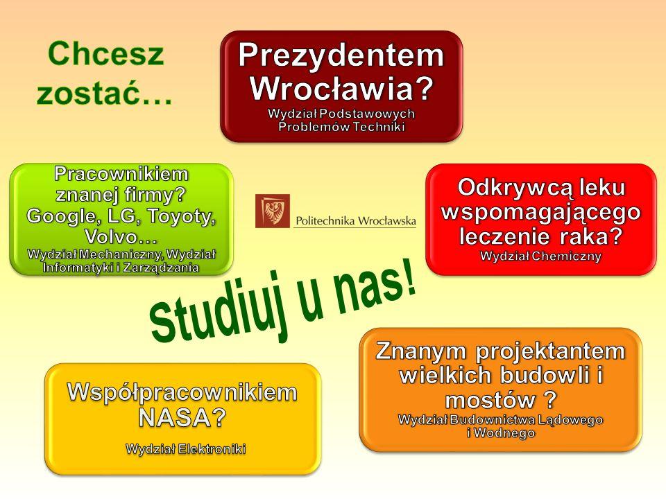 Prezydentem Wrocławia Wydział Podstawowych Problemów Techniki