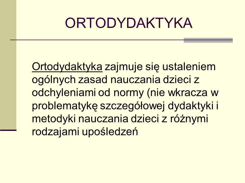 ORTODYDAKTYKA