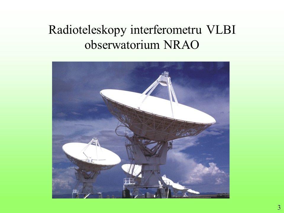 Radioteleskopy interferometru VLBI obserwatorium NRAO