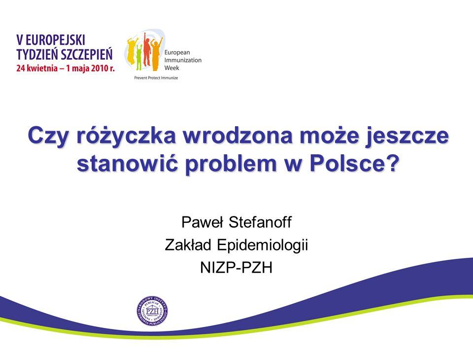 Czy różyczka wrodzona może jeszcze stanowić problem w Polsce