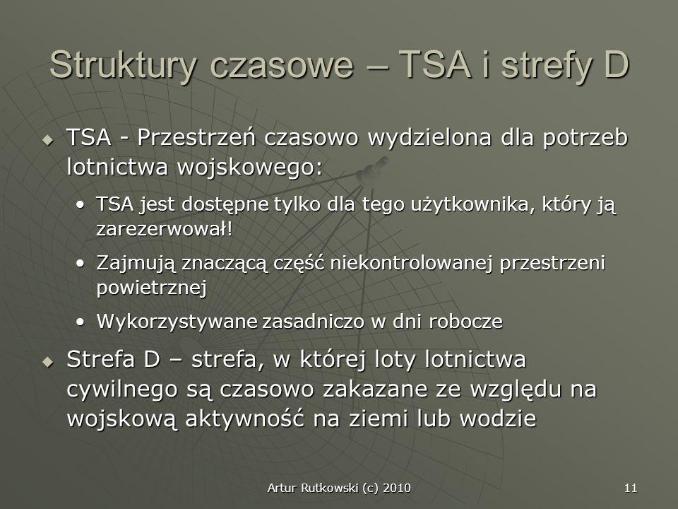 Struktury czasowe – TSA i strefy D