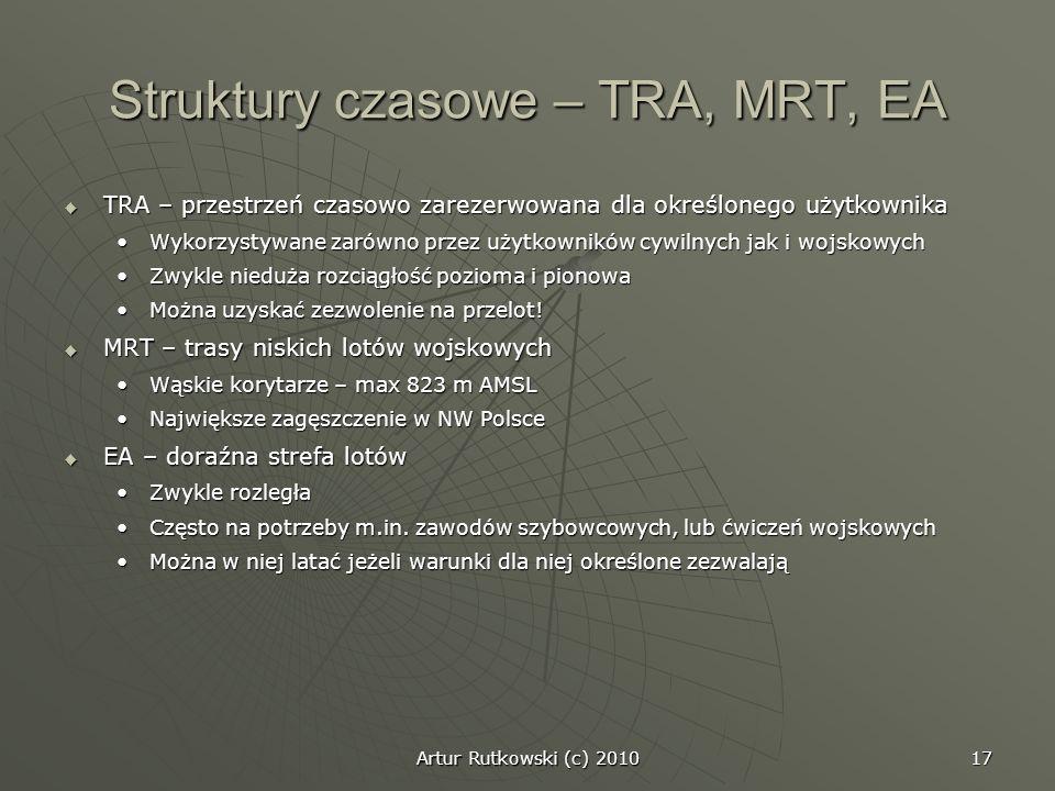 Struktury czasowe – TRA, MRT, EA