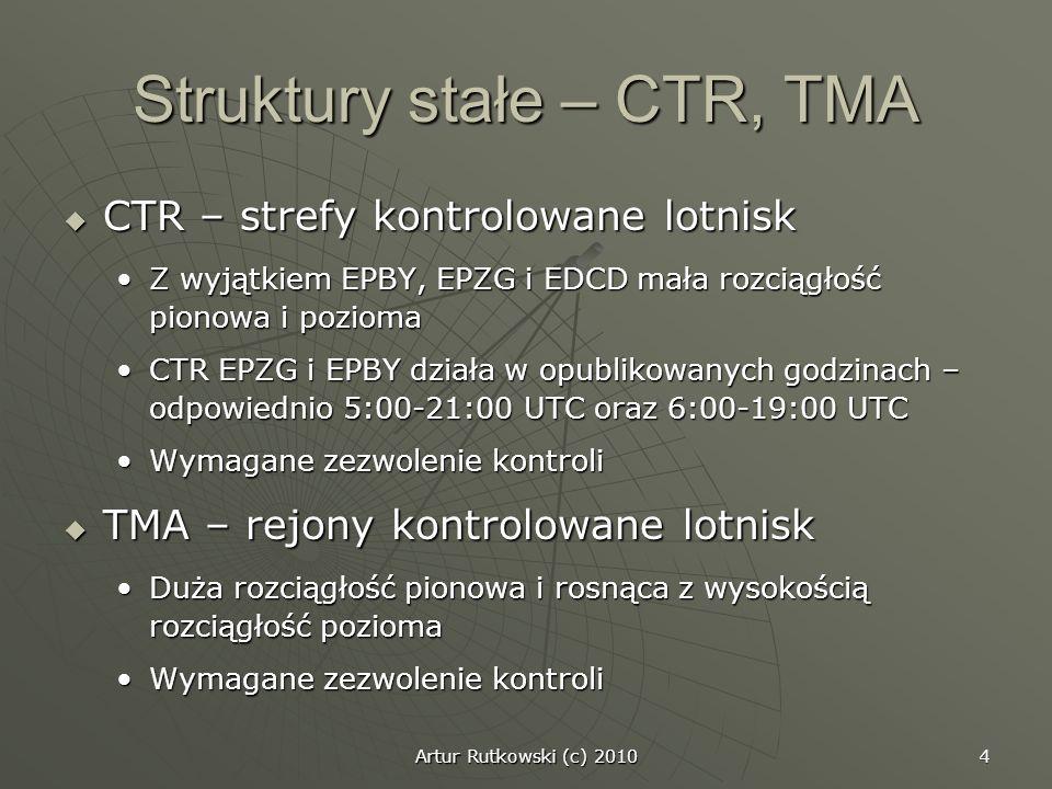 Struktury stałe – CTR, TMA