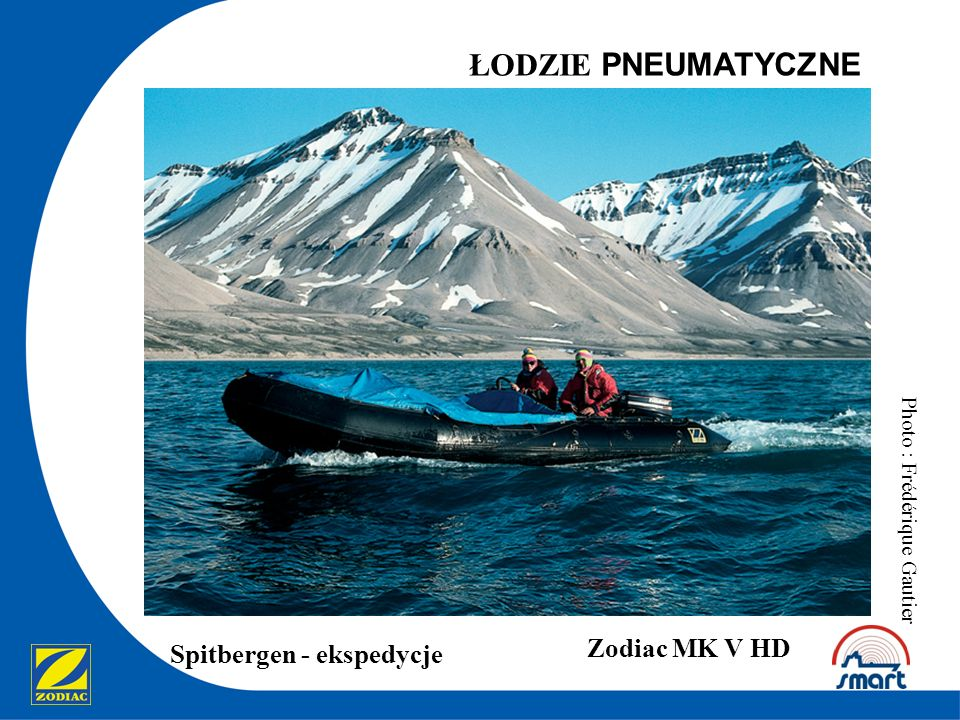ŁODZIE PNEUMATYCZNE Zodiac MK V HD Spitbergen - ekspedycje