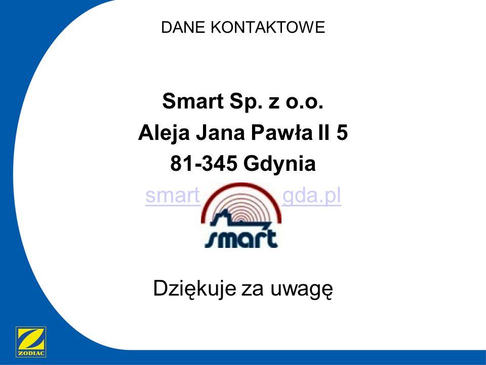 Smart Sp. z o.o. Aleja Jana Pawła II 5 81-345 Gdynia