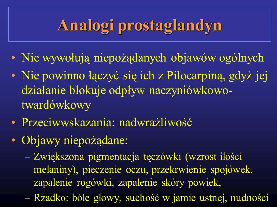 Analogi prostaglandyn