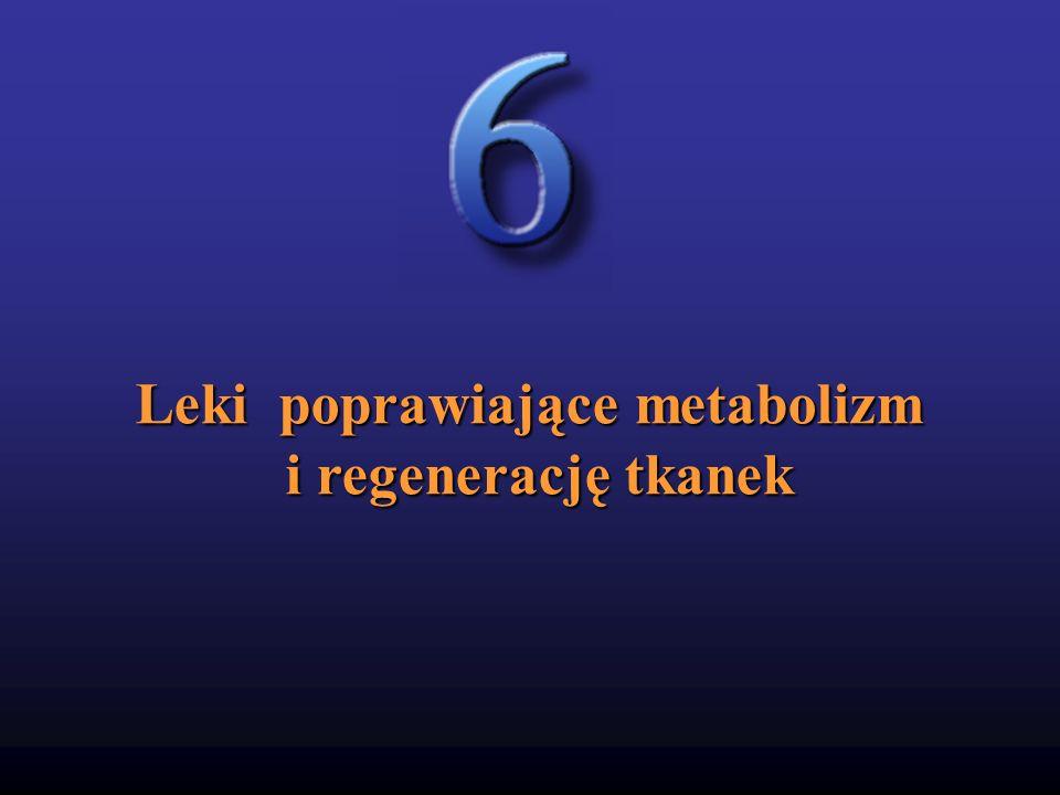 Leki poprawiające metabolizm