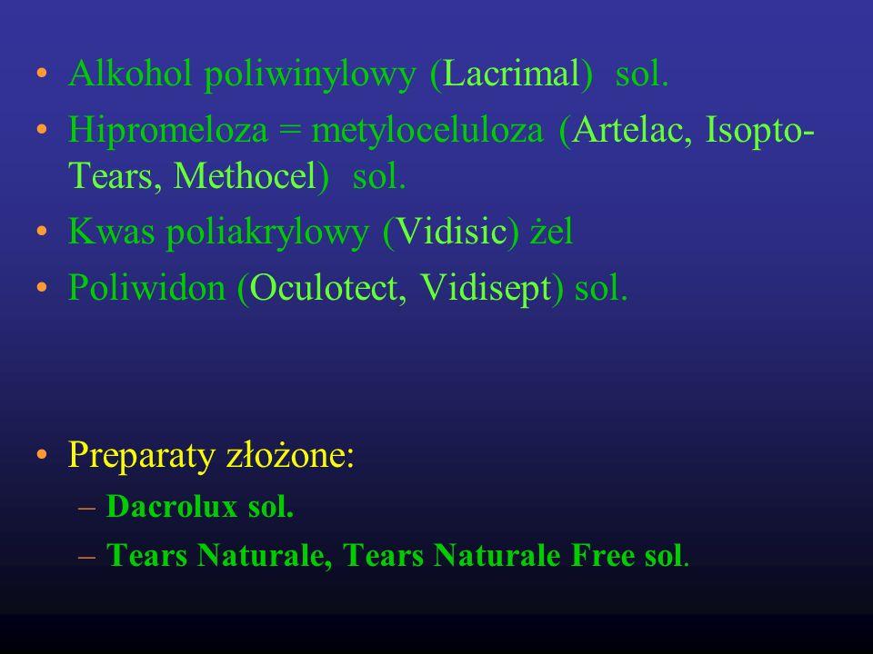 Alkohol poliwinylowy (Lacrimal) sol.