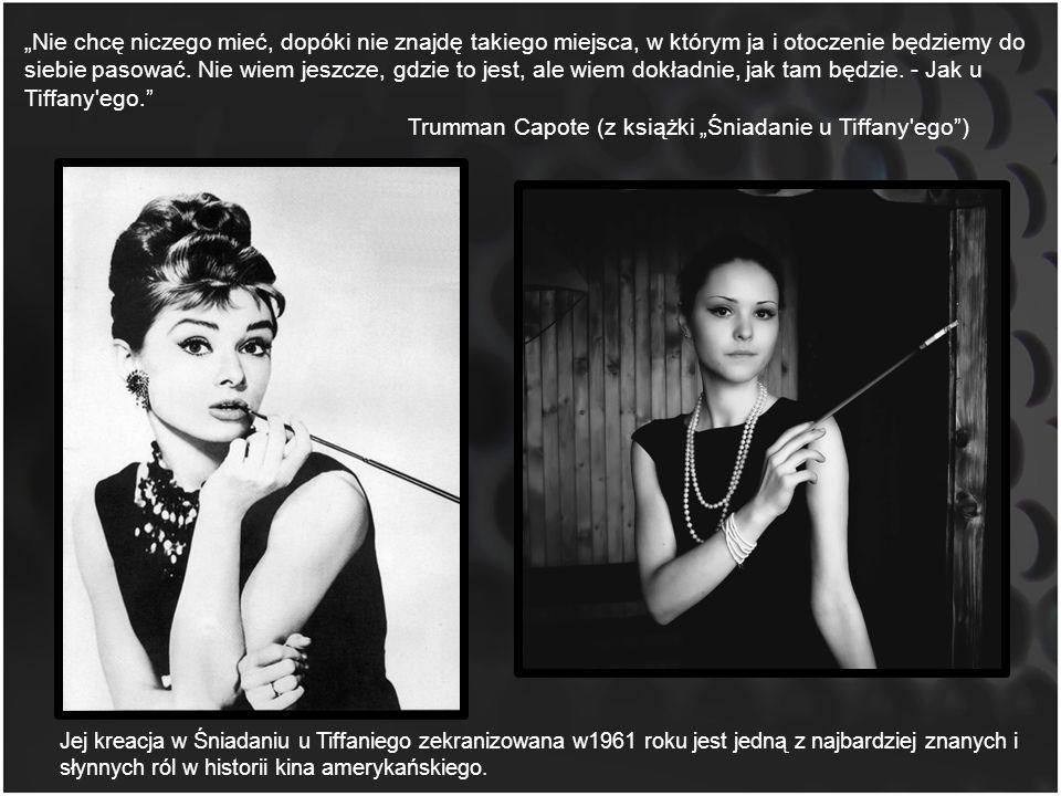 """Trumman Capote (z książki """"Śniadanie u Tiffany ego )"""