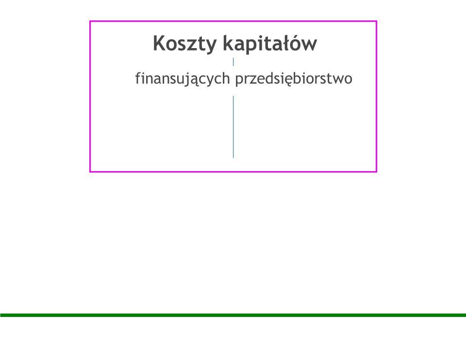 finansujących przedsiębiorstwo