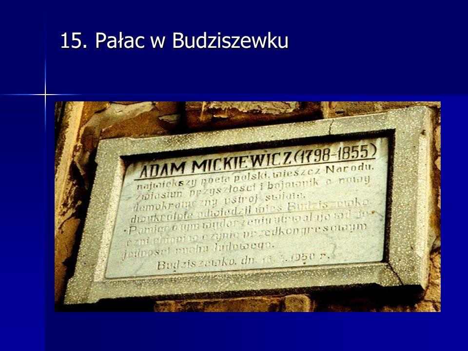 15. Pałac w Budziszewku