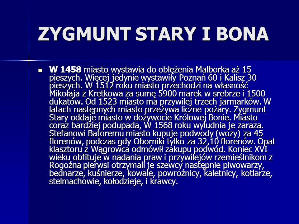 ZYGMUNT STARY I BONA