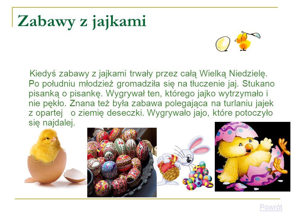 Zabawy z jajkami