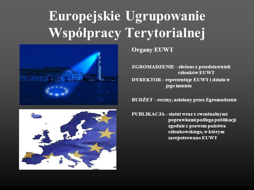 Europejskie Ugrupowanie Współpracy Terytorialnej