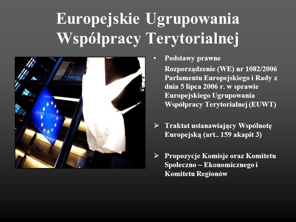 Europejskie Ugrupowania Współpracy Terytorialnej
