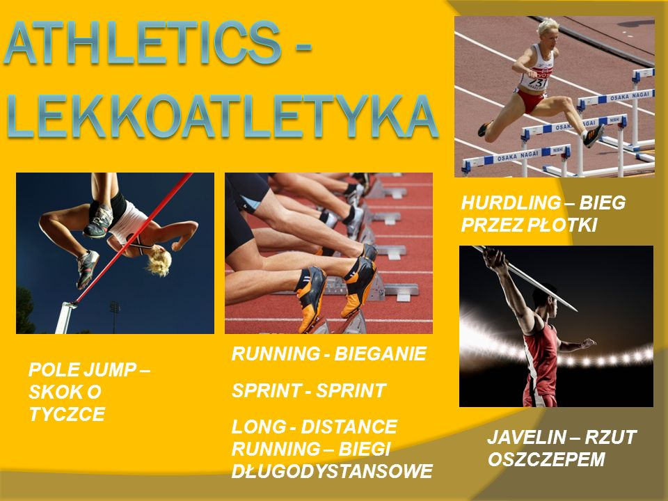 Athletics - lekkoatletyka