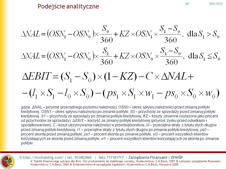 Podejście analityczne