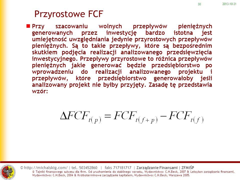 2017-03-22 Przyrostowe FCF.