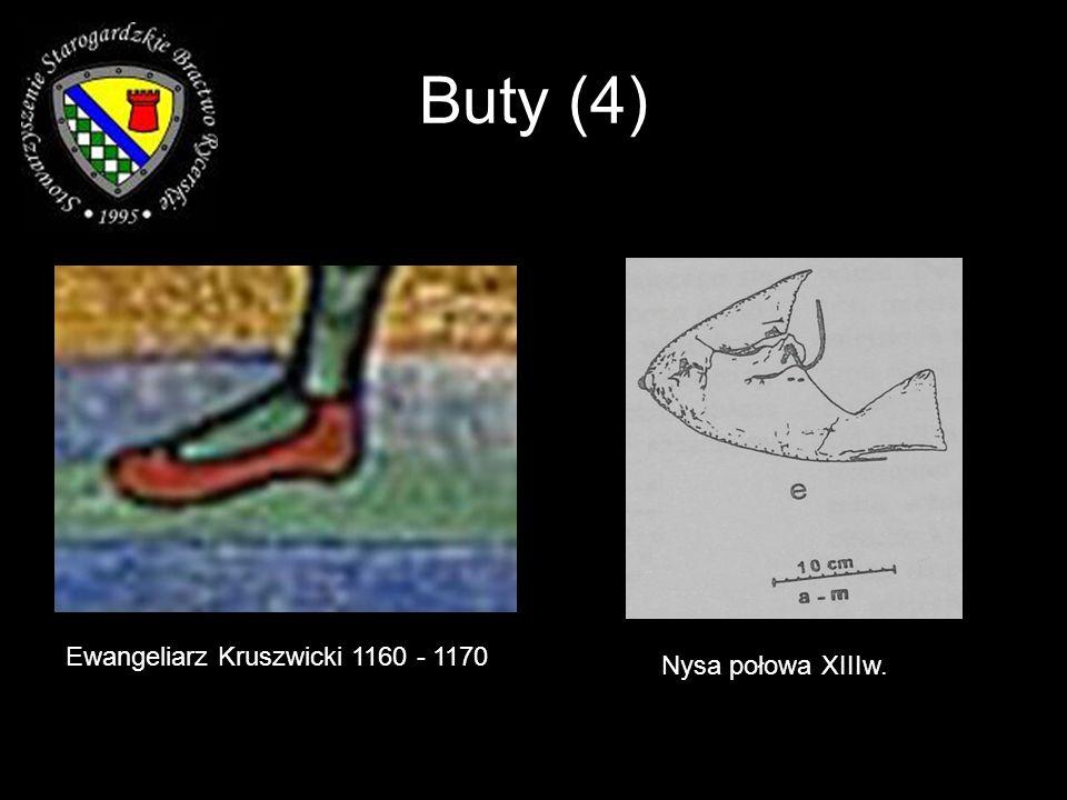 Buty (4) Ewangeliarz Kruszwicki 1160 - 1170 Nysa połowa XIIIw.