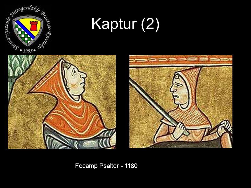 Kaptur (2) Fecamp Psalter - 1180