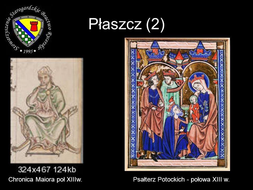 Płaszcz (2) Chronica Maiora poł XIIIw.