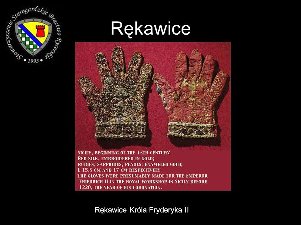 Rękawice Rękawice Króla Fryderyka II