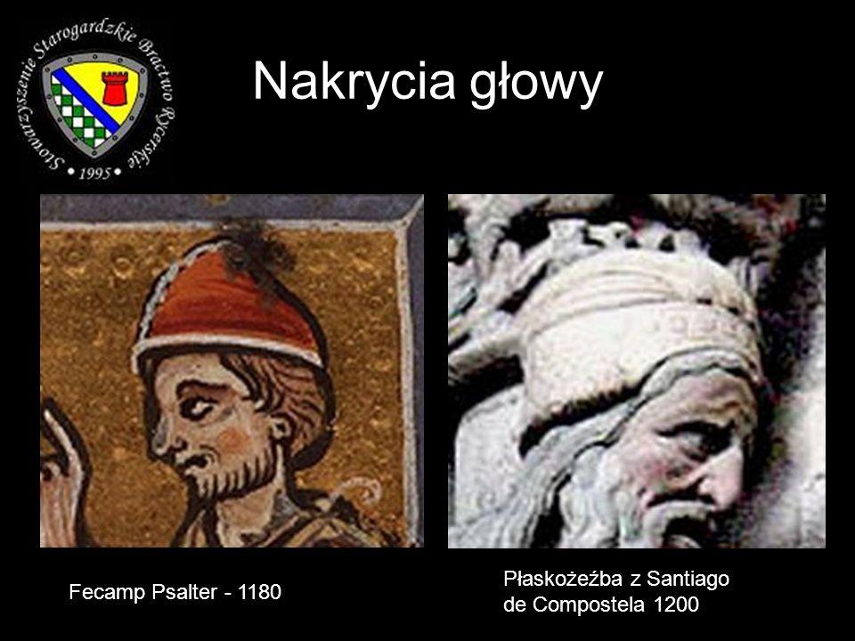 Nakrycia głowy Płaskożeźba z Santiago de Compostela 1200