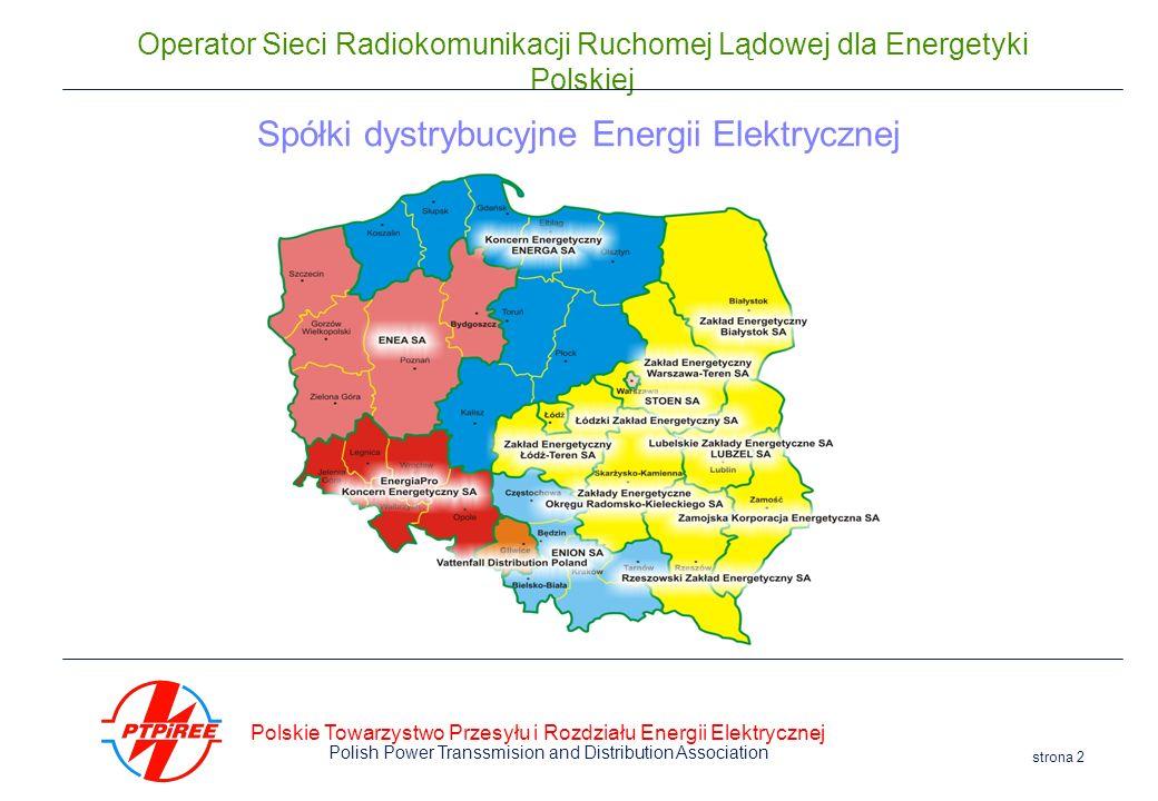 Spółki dystrybucyjne Energii Elektrycznej