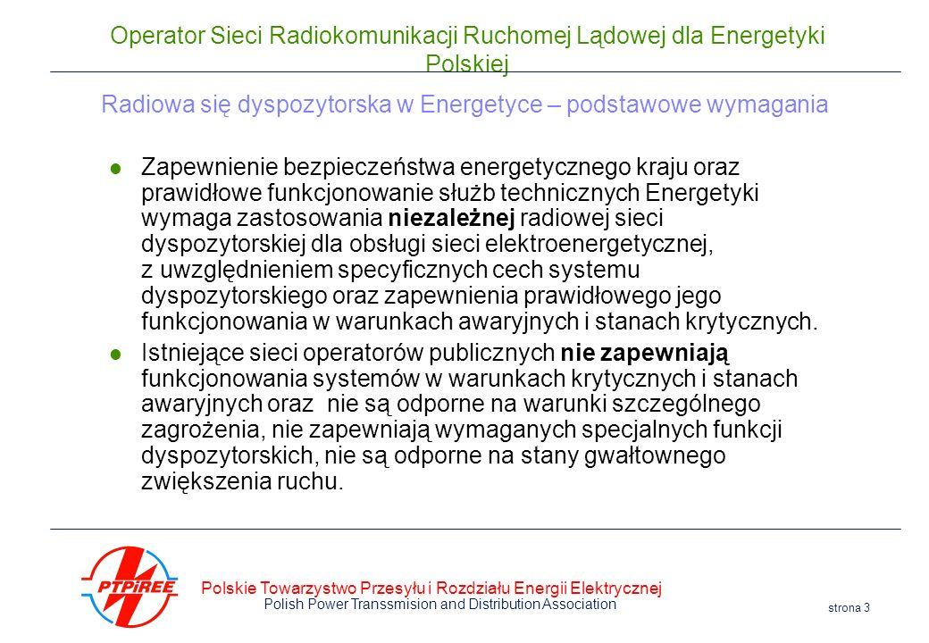 Radiowa się dyspozytorska w Energetyce – podstawowe wymagania