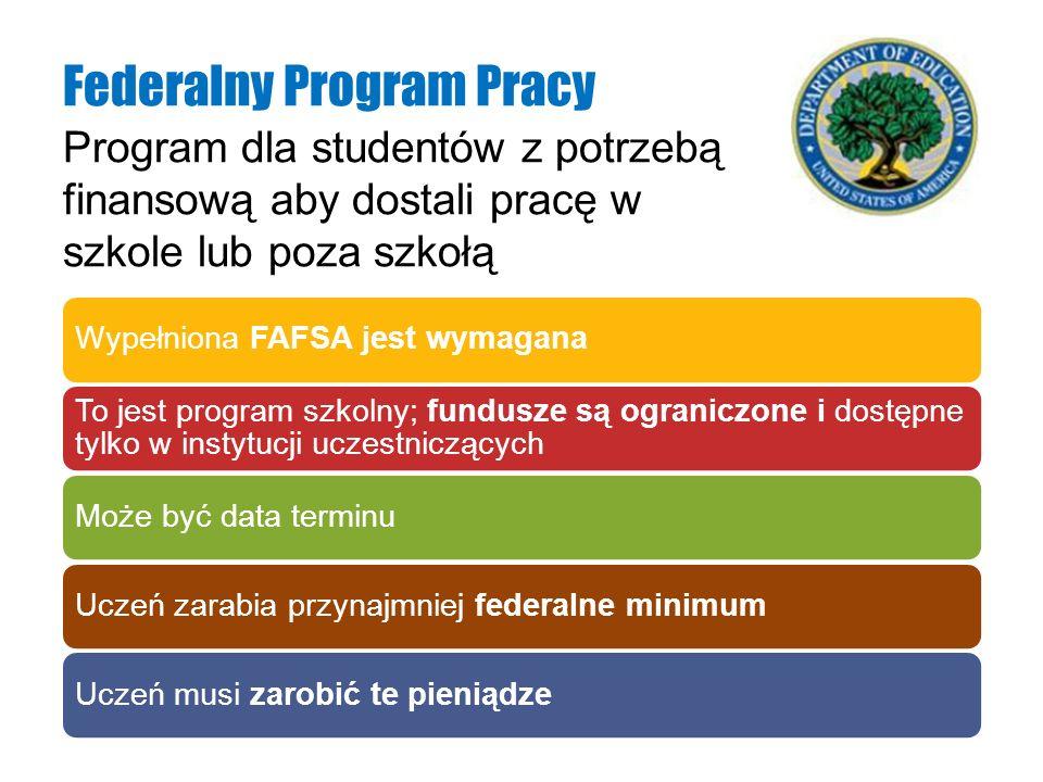 Federalny Program Pracy