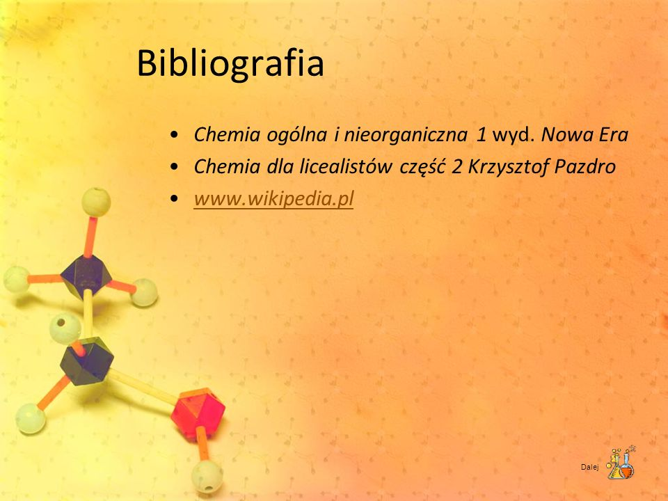 Bibliografia Chemia ogólna i nieorganiczna 1 wyd. Nowa Era