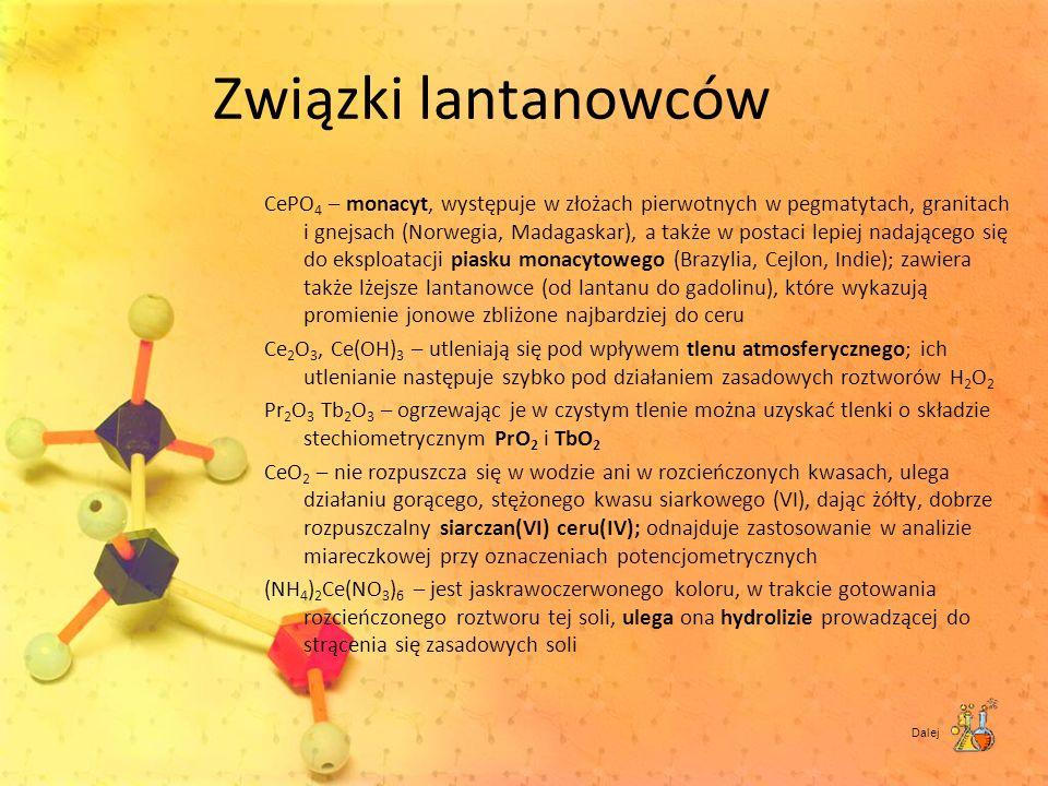 Związki lantanowców