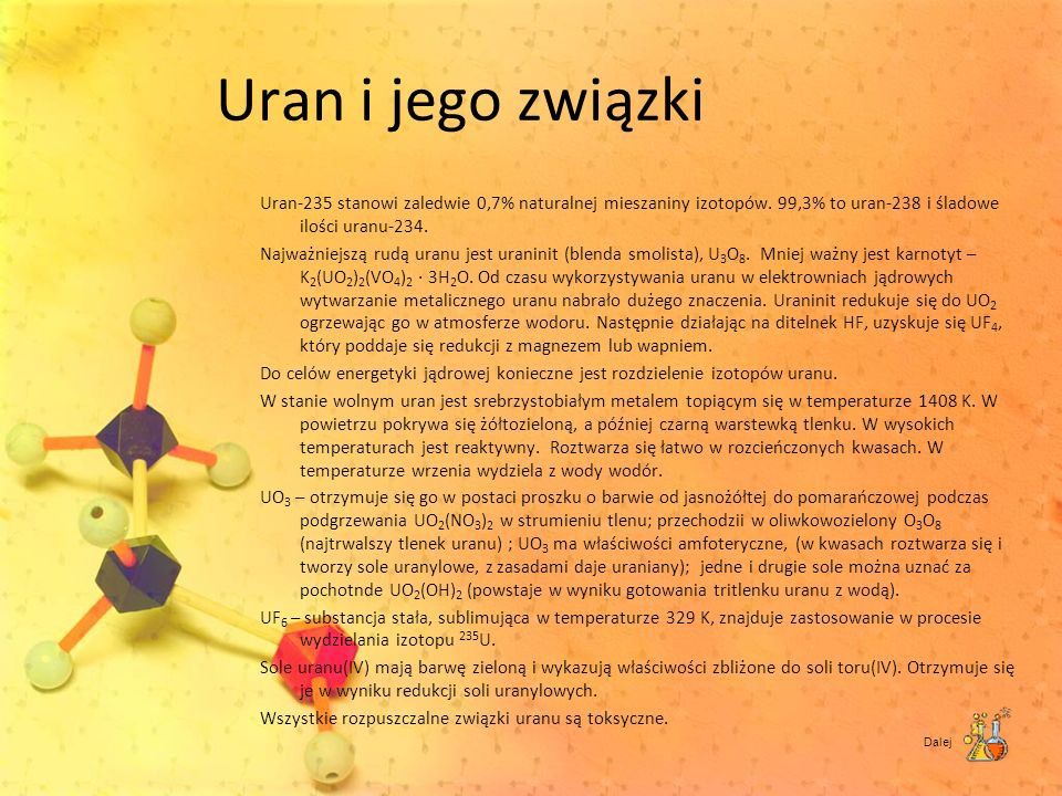 Uran i jego związki