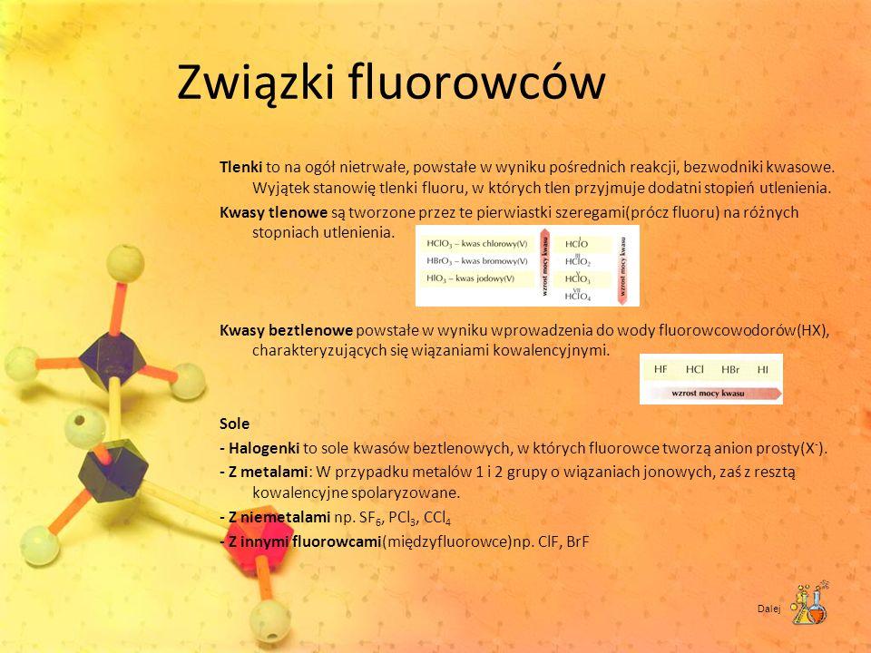 Związki fluorowców