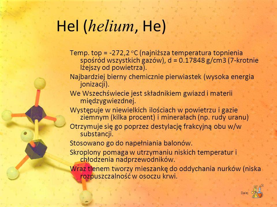Hel (helium, He)