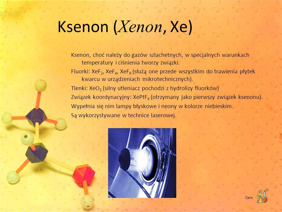 Ksenon (Xenon, Xe)