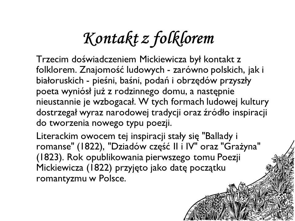 Kontakt z folklorem