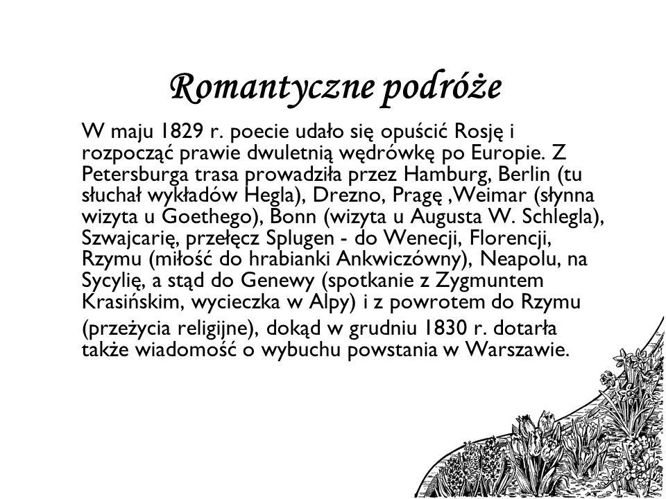 Romantyczne podróże