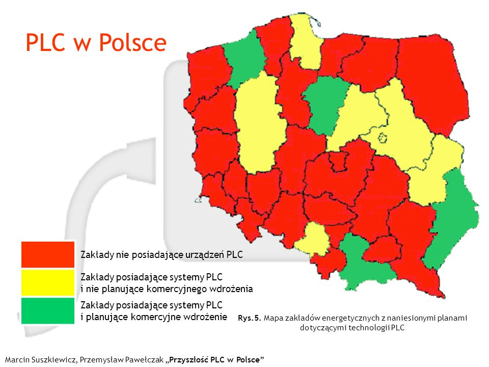 PLC w Polsce Zakłady nie posiadające urządzeń PLC