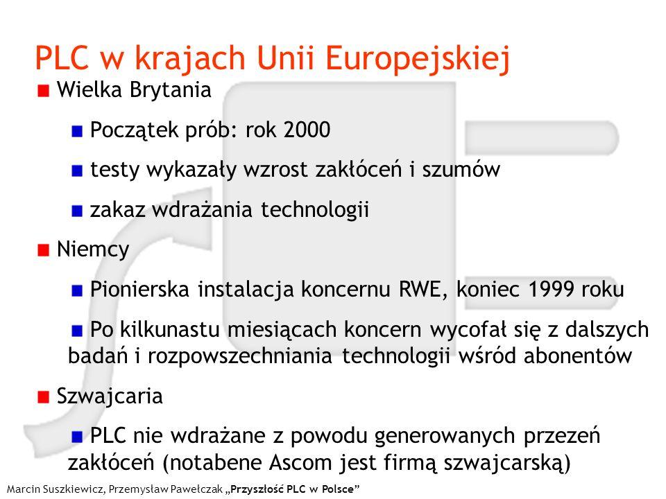 PLC w krajach Unii Europejskiej