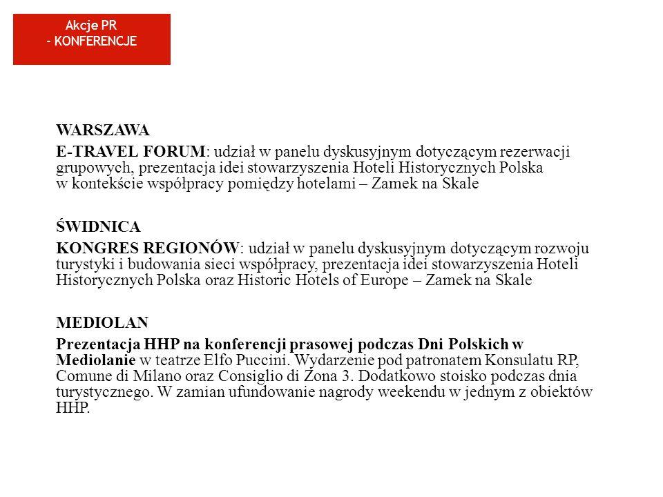 Akcje PR - KONFERENCJE WARSZAWA.
