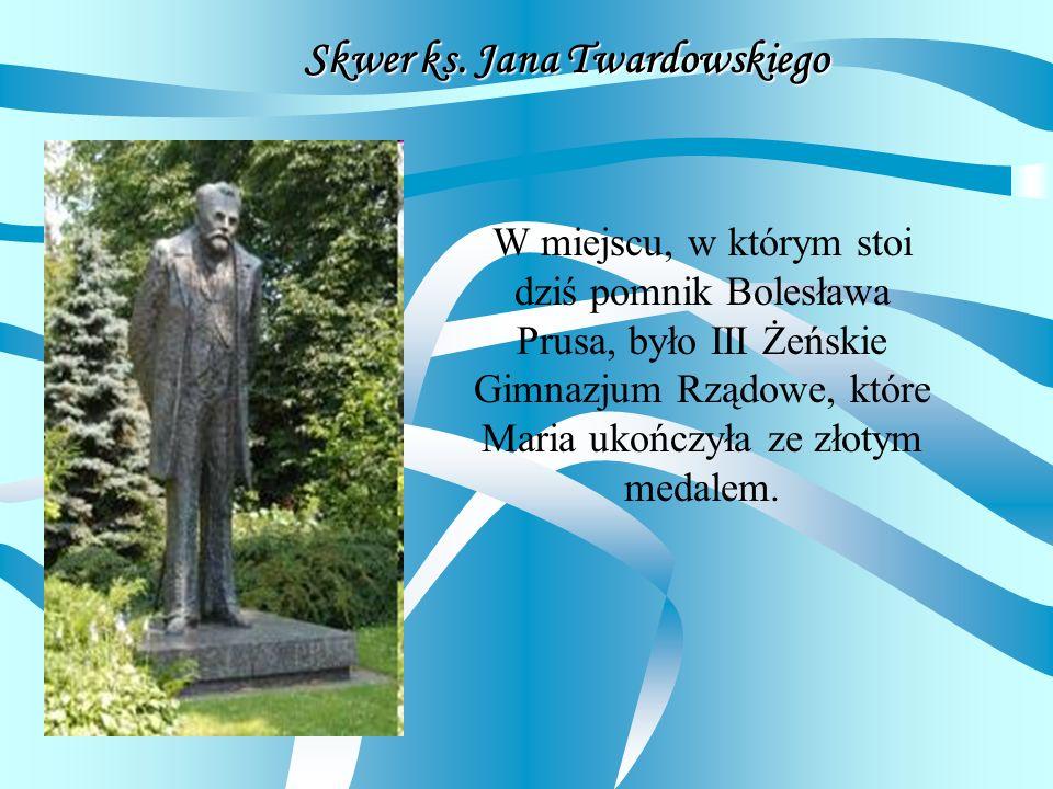 Skwer ks. Jana Twardowskiego