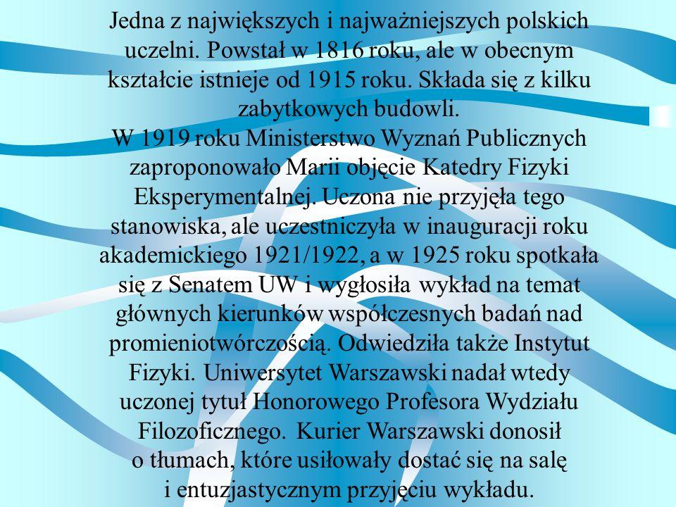 Jedna z największych i najważniejszych polskich uczelni